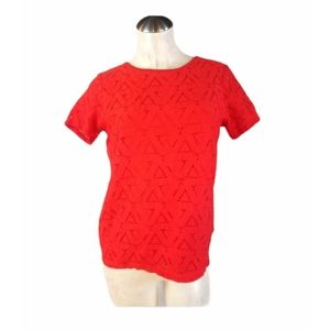 Marc New York Size S Tango Red Top